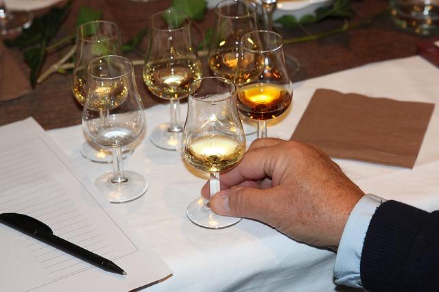 Viski, rum in gin so odlična izbira za degustacije